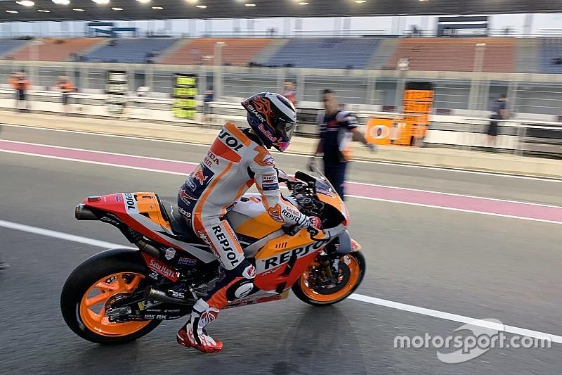 GALERÍA: Lorenzo se estrena con los colores del Repsol Honda
