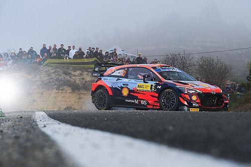 WRC, Rally Spagna, PS16: tris di Sordo, sempre più terzo