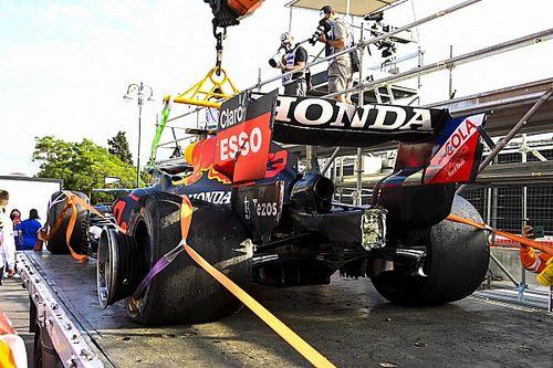 Schade aan Verstappens RB16B valt mee, Red Bull klaar voor Franse GP