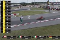 Karting yarışında pist üstünde ve pist dışında kavga yaşandı