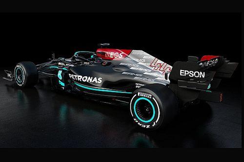 Así fue la presentación del Mercedes W12 F1