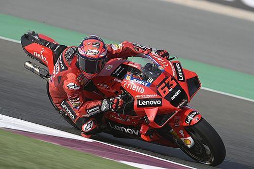 """Bagnaia, Doha MotoGP yarışında """"kabul edilemez"""" bir hata yaptı"""