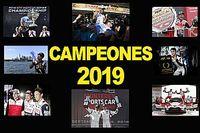 Todos los campeones de 2019