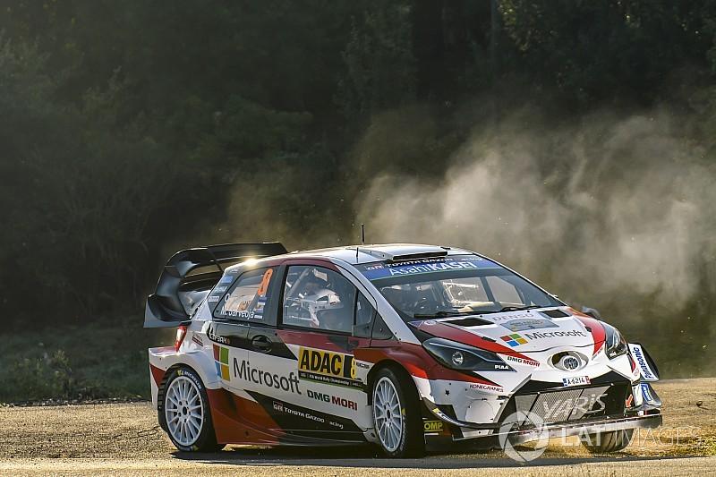 Tanak e Toyota dominano la prima tappa del Rally di Germania davanti a Ogier e Neuville