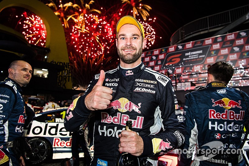 Sydney Supercars: Van Gisbergen wins thrilling battle under lights