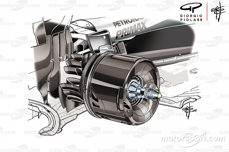 Sorpresa tecnica: la Mercedes riesce a simulare le ruote sterzanti nel posteriore?