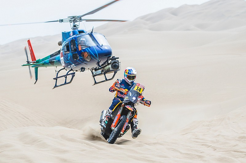 Galería: las mejores fotos de la segunda etapa del Dakar