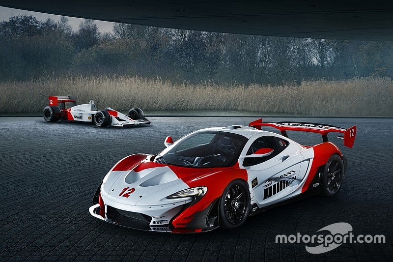 Ayrton Senna előtt tisztelegnek ezzel az egyedi McLaren P1 GTR-rel