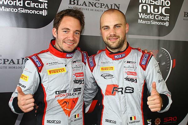 Blancpain Sprint Отчет о гонке Экипаж на Audi выиграл основную гонку в Мизано