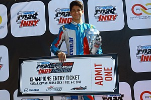 Kart Últimas notícias Marcel Coletta vence Mazda Road to Indy Brasil em Interlagos