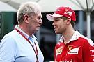Vettel's behaviour