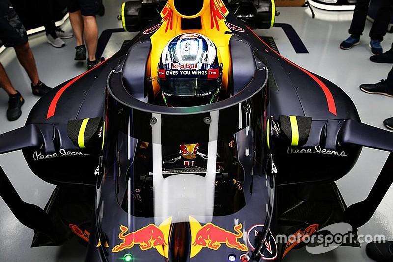 Red Bull: la FIA ha autorizzato il test in pista del parabrezza