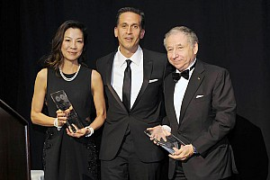 Automotive Breaking news FIA's Todt and wife Yeoh receive top United Nations NY award