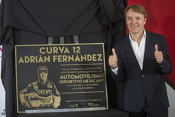 Meksika GP'sinin 12.virajına Adrian Fernandez'in adı verildi