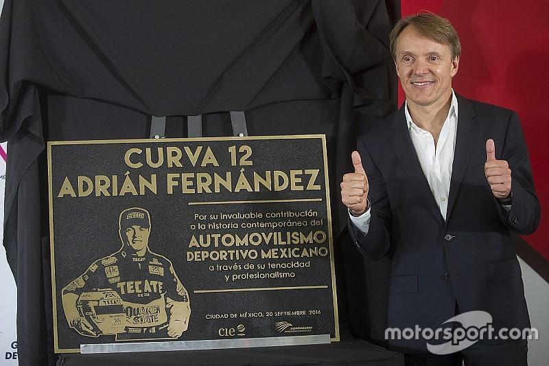 Іменем Адріана Фернандеса названо поворот на трасі в Мехіко