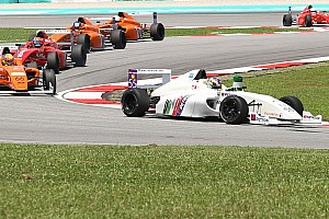Formula 4 SEA Race report F4 SEA Sepang: Cao menang lagi di Race 2, Dana finis P8