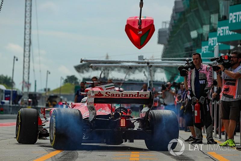Vettel, Ferrari'nin eski kalkış sistemine dönebilir