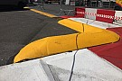Formula 1 Aggressive new kerb fitted at Monaco's Swimming Pool