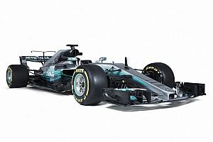 Formel 1 News Bildergalerie: Studiofotos des neuen Mercedes W08 für F1 2017