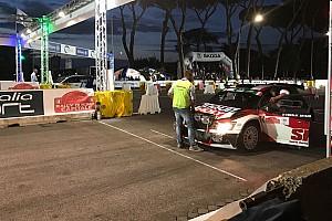 ERC Prova speciale Roma, PS1: Nikolay Gryazin si impone nello spettacolo notturno