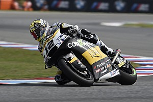 Moto2 Race report Brno Moto2: Luthi dominates six-lap sprint in the rain