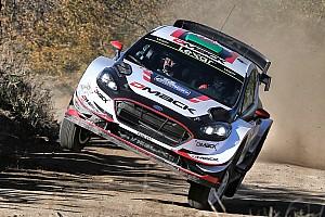 WRC Actualités Evans veut
