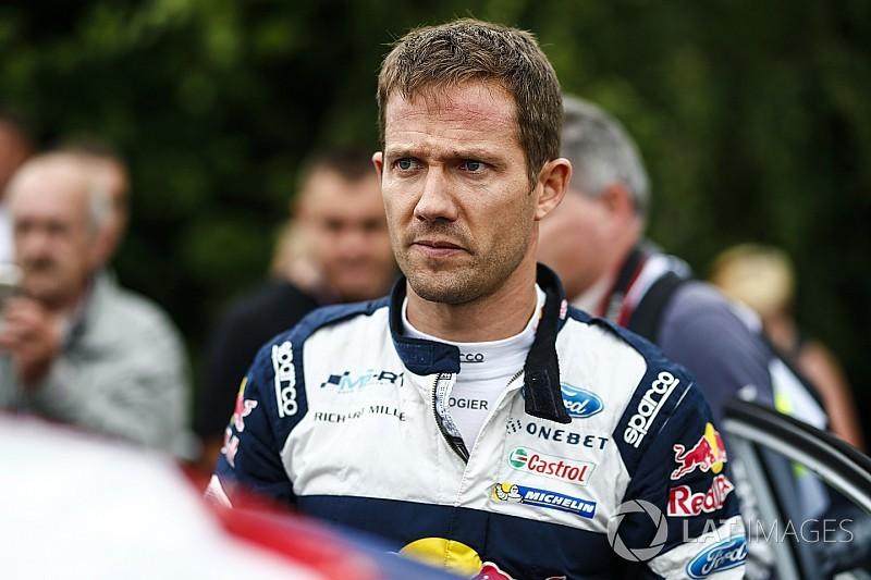 Ожье разбил машину на тестах WRC