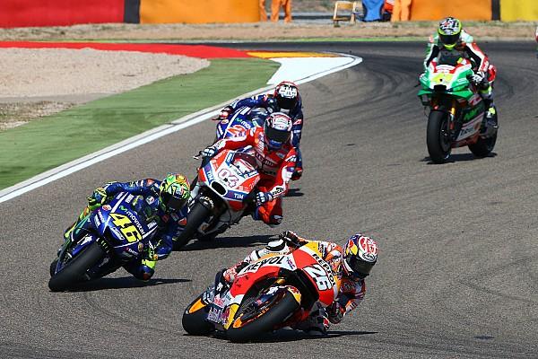 MotoGP 速報ニュース 復帰レース5位のロッシ舌戦「ペドロサはひとりでレースした方がいい」
