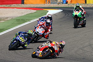 復帰レース5位のロッシ舌戦「ペドロサはひとりでレースした方がいい」