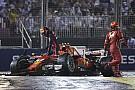 F1 ベッテルを責めるフェルスタッペン親子「彼はペナルティを受けるべき」