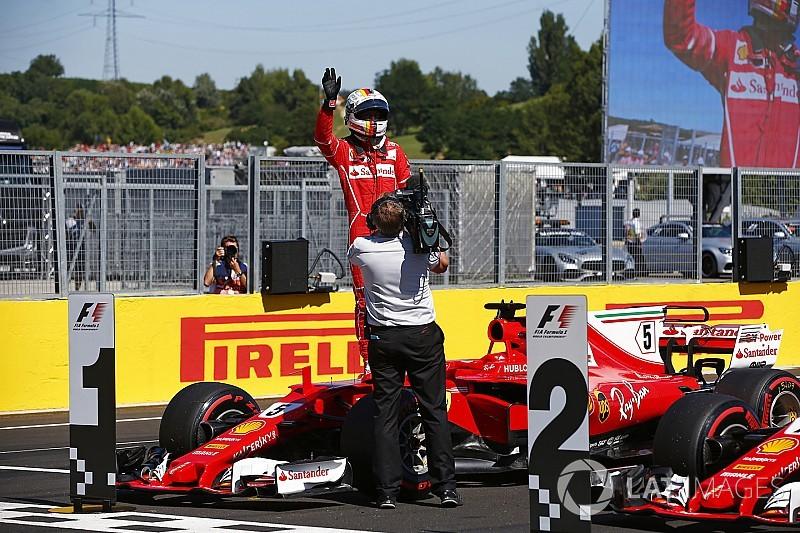 Hamilton considera que Ferrari puede ganar fácilmente en Hungría