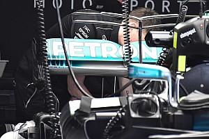 Exkluzív képeken az új F1-es fejlesztések Barcelonából