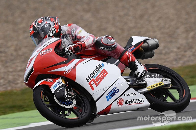 【Moto3】鳥羽海渡「転倒車に慎重になりすぎて、その分遅れをとった」