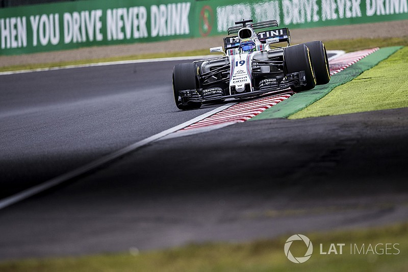Massa destaca dia inconclusivo para a Williams no Japão