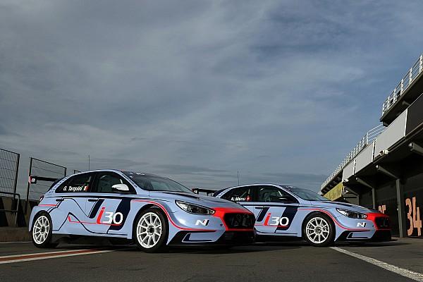 Tarquini et Menu vont lancer la nouvelle Hyundai i30 N TCR en fin de saison