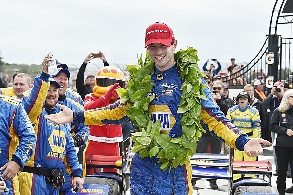 IndyCar Rossi gana en Watkins Glen