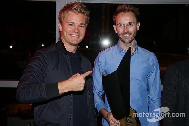 """Nico Rosberg bei Rene Rasts Meisterfeier: """"Die Party war super!"""""""