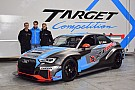 TCR Italia Giacomo Altoè a Monza con l'Audi di Target Competition
