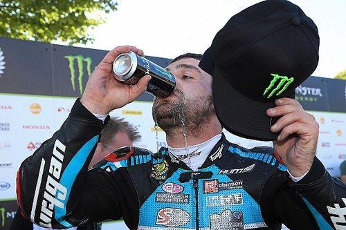Michael Dunlop wins twice in Armoy despite broken pelvis