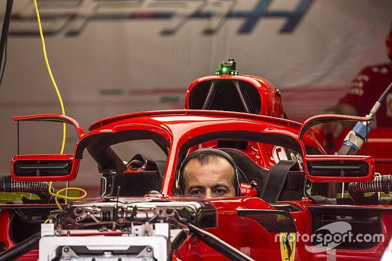 Ferrari probará espejos montados sobre el Halo