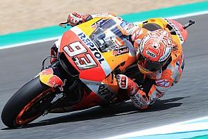 MotoGP Practice report Jerez MotoGP: Marquez tops FP3, Dovizioso and Vinales to Q1