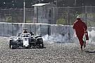 Leclerc se enojó por cometer un error