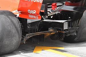 Formula 1 Analisi Ferrari: si rivede il diffusore bocciato nelle libere dell'Australia!