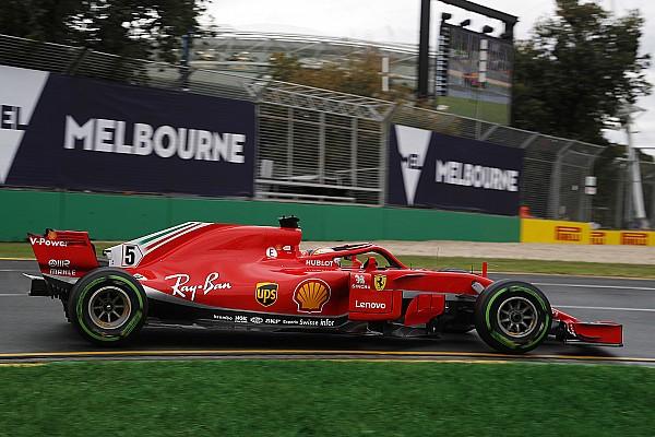 Fórmula 1 Crónica de entrenamientos Vettel, el más rápido en unos libres 3 condicionados por el agua