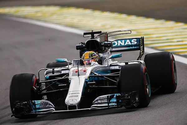 巴西大奖赛周五练习:汉密尔顿拒绝松懈,高居首位