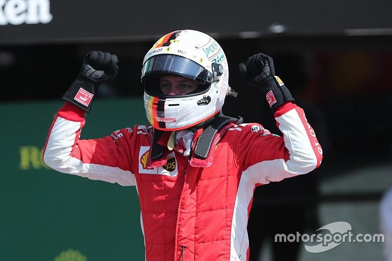 Vettel a eu