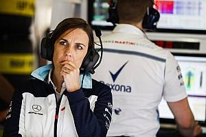 Formel 1 News Claire Williams: Befinden uns nicht in einer Abwärtsspirale
