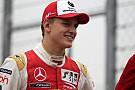 F3-Euro Schumacher encabeza el último y nevado día de test de la F3