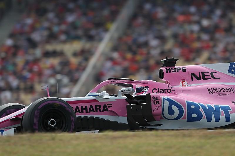 Перес боявся не вийти з Q1 кваліфікації Гран Прі Німеччини