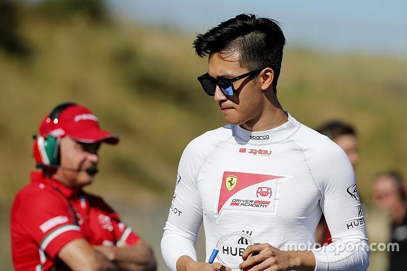 Renault F1 ha messo sotto contratto Guan Yu Zhou come tester e development driver